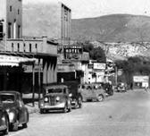 Old Town Cottonwood AZ 1930's Main Street