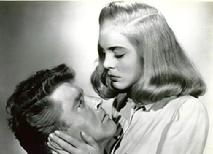 Burt Lancaster & 'Lisabeth Scott in Cottonwood 1946 movie location of Desert Fury