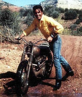 Elvis filming Stay Away Joe at Verde River Cottonwood AZ location