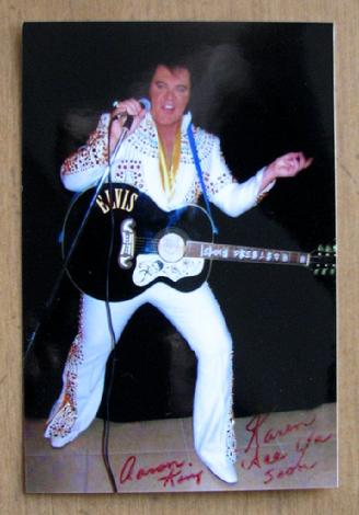 Aaron King Elvis in Arizona