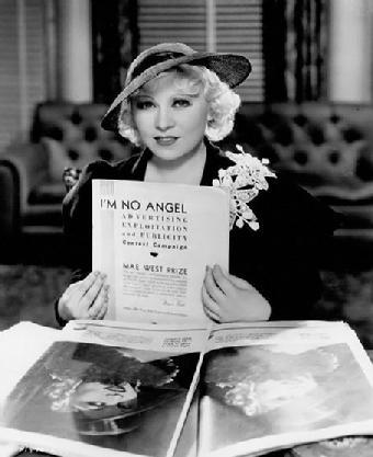 Mae West I'm No Angel